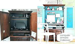 home office armoire. Modren Office Home Office Secretary Modern  Armoire  Throughout Home Office Armoire E