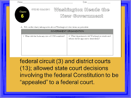 Set Up The Federal Court System Determined The Number Of