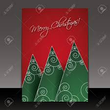 christmas card flyer or cover design royalty cliparts christmas card flyer or cover design stock vector 16007425