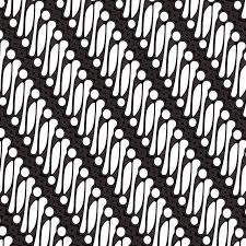 インドネシアパランのバティック無料ベクトル 織物 単純なプリント