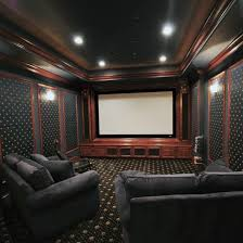 how to create a home theater room decor and lighting tips from fabby