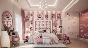 Pink Childrens Bedroom Bedroom Pink And Gray Creative Kids Wall Decor Bedroom Wonderful