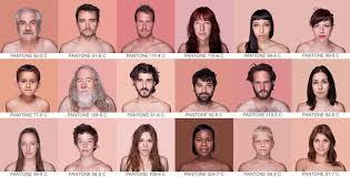 Pantone Skin Color Spectrum