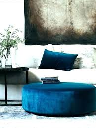 light blue ottoman. Blue Velvet Ottoman Light .