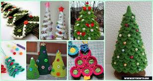 Crochet Christmas Tree Pattern Classy Crochet Christmas Tree Free Patterns For Holiday Decoration