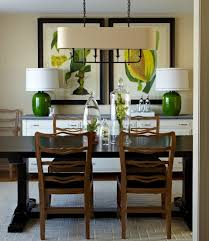 white dining room buffet. Dining Room Lighting Ideas And The Arrangement Tips » Unique Lamp On White Buffet