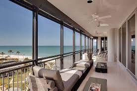 Modern Balconies Interior Design Ideas. Nice panorama view of the beach