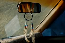 Dream Catcher For Car Mirror Interesting Dream Catcher For Car Mirror Backseat Beads Car Dreamcatcher Feather