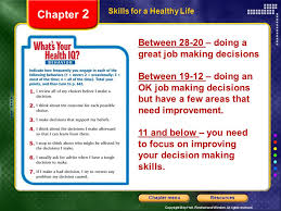 Great Job Skills Chapter 2 Between Doing A Great Job Making Decisions Ppt Download