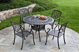 amazing metal patio chair with metal outdoor furniture mariposa dining group metal patio chairs
