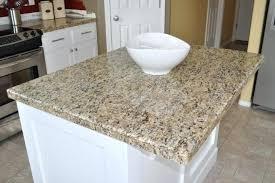 granite tile cost countertop kitchen
