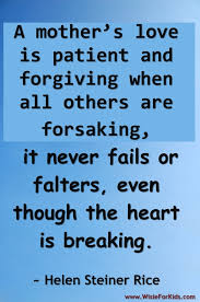 Quotes About Mothers Love Quote On Mothers Love 100 Images About Mother Son Quotes On 86