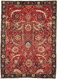 tidy pile this ancient persian rug which dates back to the 1650s sold