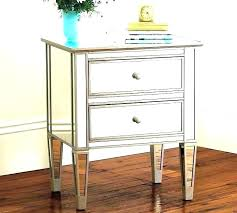 small mirrored side table small mirrored nightstand bedside table mirrored mirrored side table amazing small mirrored