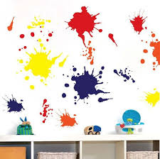 sun wall decal trendy designs: ink splash wall decals trendy wall designs