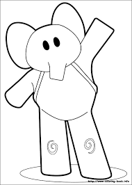 Pocoyo Coloring Pages Books 100 Free And Printable