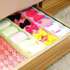 sock drawer organizer 5 cells plastic organizer storage box tie bra socks drawer cosmetic divider tidy
