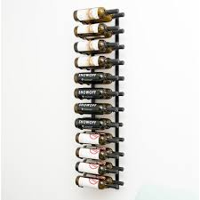 vintageview bottle metal wall mounted wine rack reviews wayfair in diffe 24