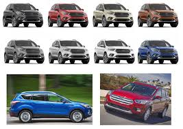 2018 ford escape. plain escape 2018 ford escape colors to ford escape