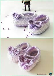 Crochet Baby Shoes Pattern Awesome Crochet Baby Booties Slippers Free Patterns Instructions