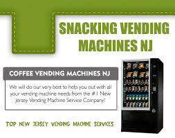 Vending Machine Companies In Nj Magnificent Advantages Of Vending Machine Company NJ Snacking Services Llc