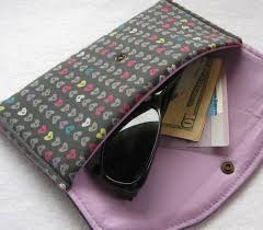 29 best eye glass case images on Pinterest   Glasses, Sewing ideas ... & eyeglass case pattern - might try this for a friend Adamdwight.com