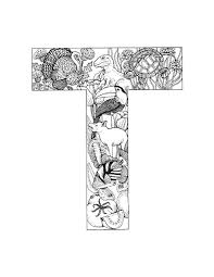 Small Picture letter T Alphabet Coloring Pages T T s Taa