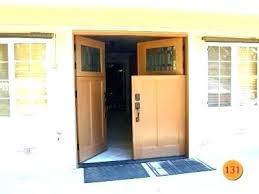 double dutch door e dutch doors barn fiberglass craftsman entry door 2 fir skin steel e double dutch door