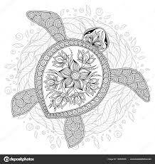 Disegni Di Tartarughe X Bambini Illustrazione Vettore Della