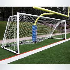 custom wheeled soccer goal to fit in front of football goalpost