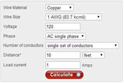 120 Volt Wire Size Chart Electrical Analysis Tools Useful In Solar Applications