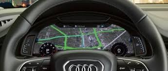 2018 audi q7 interior. plain 2018 drivers have even more ways to view and customize information with the  available audi virtual cockpit featuring google earth map integration and 2018 audi q7 interior