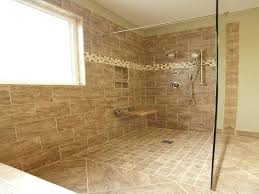 bathroom showers without doors furniture shower small bathroom walk in shower no door designs tile regarding