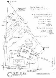 how to draw a plot plan terrific house plot plan examples gallery ideas house