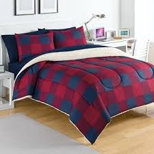 ruff hewn bedding buffalo plaid comforter 3 piece set younkers ruff hewn bedding