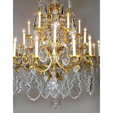 bronze crystal chandelier french century xv style gilt bronze crystal chandelier bronze crystal chandelier