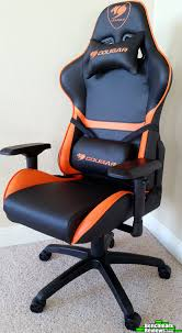 COUGAR-Armor-Gaming-Chair-Review-Front-Left-Corner