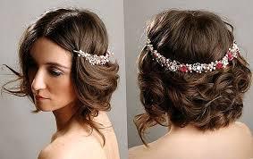 Krása 11 Svadobné účesy Pre Krátke Vlasy