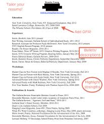 list gpa on resumes. how to ...