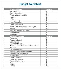 Child Care Budget Template Condo Budget Template Condo Budget Template Condo Budget Templates
