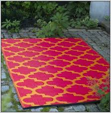 recycled plastic outdoor rugs mats