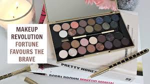 makeup revolution fortune favours the brave palette review nishi v you