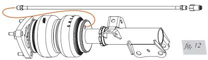 how to install an air lift performance h height and pressure fig 12