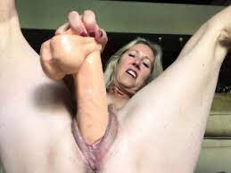 Granny Spreading Pussy Solo