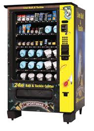 Used Live Bait Vending Machine For Sale Mesmerizing VCI Bait Vend VendingVending