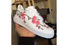 gucci air force 1. nike air force 1 cherry blossom custom gucci
