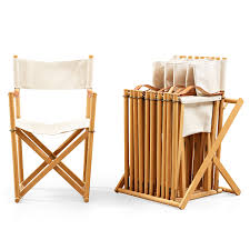 canvas folding chairs. Wonderful Chairs MOGENS KOCH A Set Of Six Beech And Canvas U0027MK16u0027 Folding Chairs Comes  With Stand For Storage Rud Rasmussen Denmark  Bukowskis Inside Canvas Folding Chairs F