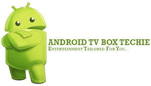 android tv logo. android tv box techie logo