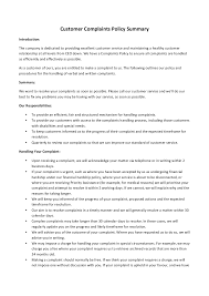 Proper Complaint Letter Format Free Download Daily Planner