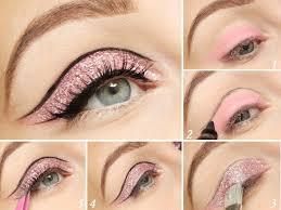 glitter eye makeup tutorial